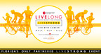 Zimmerman Advertising's Livelong Benefiting Livestrong Logo.  (PRNewsFoto/Zimmerman Advertising)