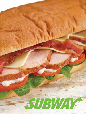 SUBWAY(r) Sandwich Shops Introduce Thick Cut Carved Turkey to Permanent Menu Nationwide.
