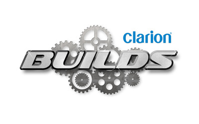 Clarion Builds is an innovative marketing program initiated by Clarion Corporation of America to tackle unique restoration projects of iconic cars and trucks in cooperation with key partners hand-selected for each individual project. The program is designed to connect with new and existing fans who are car enthusiasts, automotive sports fans, journalists, historians, and anyone with an interest in design and style, through a mix of social and traditional media.  https://www.clarionbuilds.com/ . (PRNewsFoto/Clarion Corporation of America) (PRNewsFoto/)