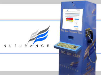 Nusurance Kiosks change the way insurance agencies will do business in the future.  (PRNewsFoto/Nusurance Corp)