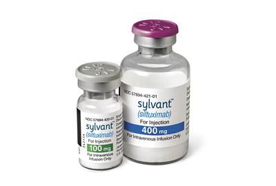 SYLVANT 100 and 400 mg Vials (PRNewsFoto/Janssen Biotech, Inc.)