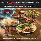 Ryan's®, HomeTown® Buffet And Old Country Buffet® Prove They Are A Cut Above The Rest With Signature Steak Selections, Available November 20
