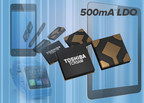 Toshiba's new series of 500 mA output low-drop out  (LDO) regulator integrated circuits (IC)s is suited to applications requiring an LDO where battery power is critical.
