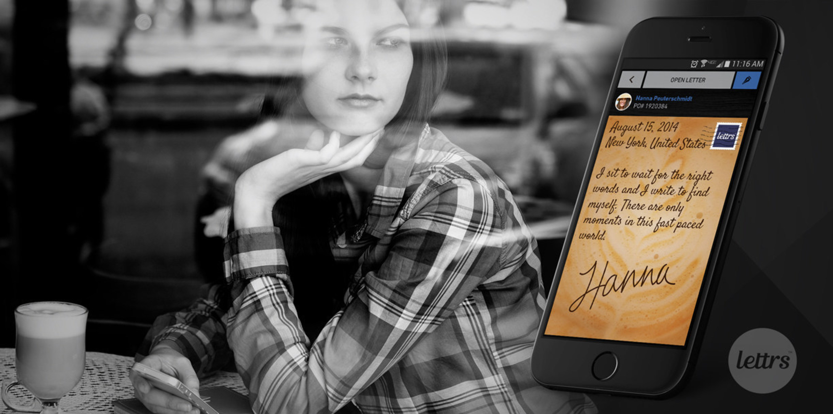 lettrs app Brings Love Letters Mobile with First Mobile Signature, Themes, and PenPals for Lasting words.