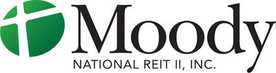 Moody National REIT II, Inc. Logo (PRNewsFoto/Moody National REIT II)