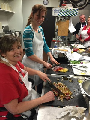 Something good was cooking, handcrafted by warriors during a recent nutrition and fitness summit hosted by Wounded Warrior Project.