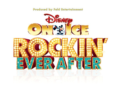 Disney On Ice presents Rockin' Ever After show logo.  (PRNewsFoto/Feld Entertainment, Inc.)