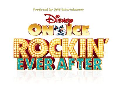 Disney On Ice presents Rockin' Ever After show logo.  (PRNewsFoto/Feld Entertainment, Inc.)
