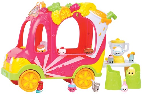 """Shopkins Smoothie Truck - The hugely popular collectible toy range has its own little Smoothie Truck, just one of this year's must-haves in the Toys """"R"""" Us Top Christmas Toys predictions (PRNewsFoto/Toys """"R"""" Us)"""