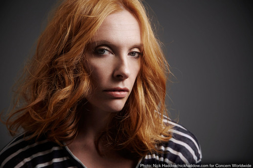 Award-Winning Actress Toni Collette and Concern Worldwide U.S. Fight Poverty and Hunger with
