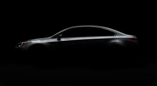The all-new 2015 Subaru Legacy. (PRNewsFoto/Subaru of America, Inc.) (PRNewsFoto/SUBARU OF AMERICA, INC.)