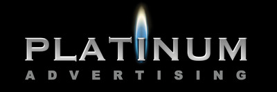 The Platinum Advertising logo.  (PRNewsFoto/Platinum Advertising, LLC)