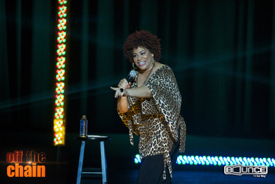 "Actress/comedienne Kim Coles (Living Single, In Living Color) will headline the season premiere of the Bounce TV Original Series ""Off The Chain"" on Weds. Nov. 12 at 10:00 p.m. ET.  Visit BounceTV.com for local channel listing.  Follow @bounce_tv"