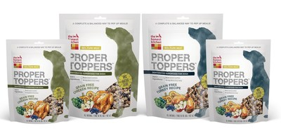 The Honest Kitchen's Proper Toppers are available in Turkey and Chicken