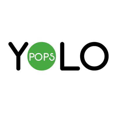YOLO Pops logo.