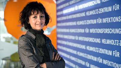 Emmanuelle Charpentier, PhD, 2014 Dr. Paul Janssen Award Winner (PRNewsFoto/Johnson & Johnson)