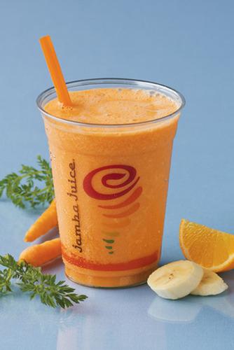 Jamba Juice - Fresh Squeezed Juice, Triple Revitalizer(TM).  (PRNewsFoto/Jamba Juice Company)