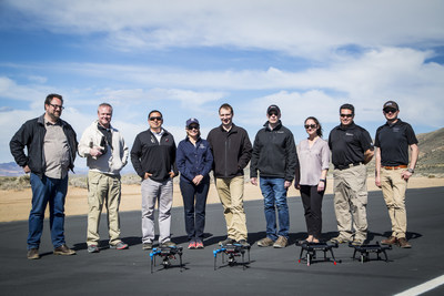 Representatives from Insitu and the University of Nevada, Reno stand ready to support the university's unmanned systems curriculum.