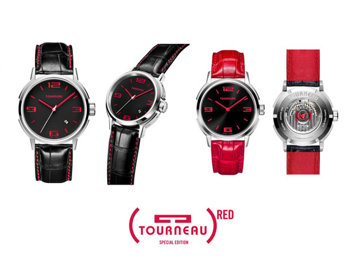 TOURNEAU Joins the Fight Against AIDS by Partnering with the (RED)(TM) Campaign and Unveiling Two Special Edition (RED)(TM) Watches.  (PRNewsFoto/Tourneau)
