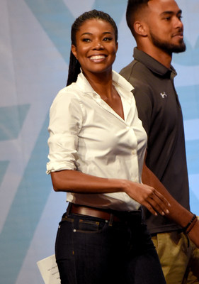 NORFOLK, VA - NOVEMBER 20: Gabrielle Union speaks onstage during FNV (Fruits N Veggies) Live sponsored by Avocados From Mexico at Ted Constant Convocation Center on November 20, 2015 in Norfolk, Virginia. (Photo by Rick Diamond/Getty Images for Avocados From Mexico)