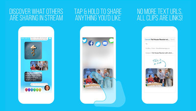 Stream: An Anonymous Social Network For Content Discovery. (PRNewsFoto/Stream)