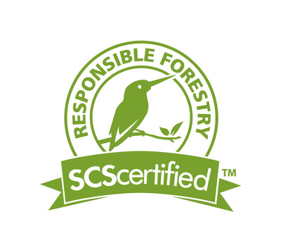 SCS Responsible Forestry Certification Mark.  (PRNewsFoto/Scientific Certification Systems)