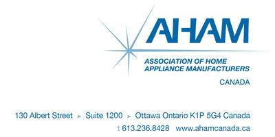 AHAM Logo.  (PRNewsFoto/Association of Home Appliance Manufacturers)