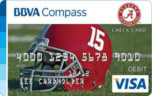 BBVA Compass commemorates University of Alabama's 15th football national title with Bama-branded