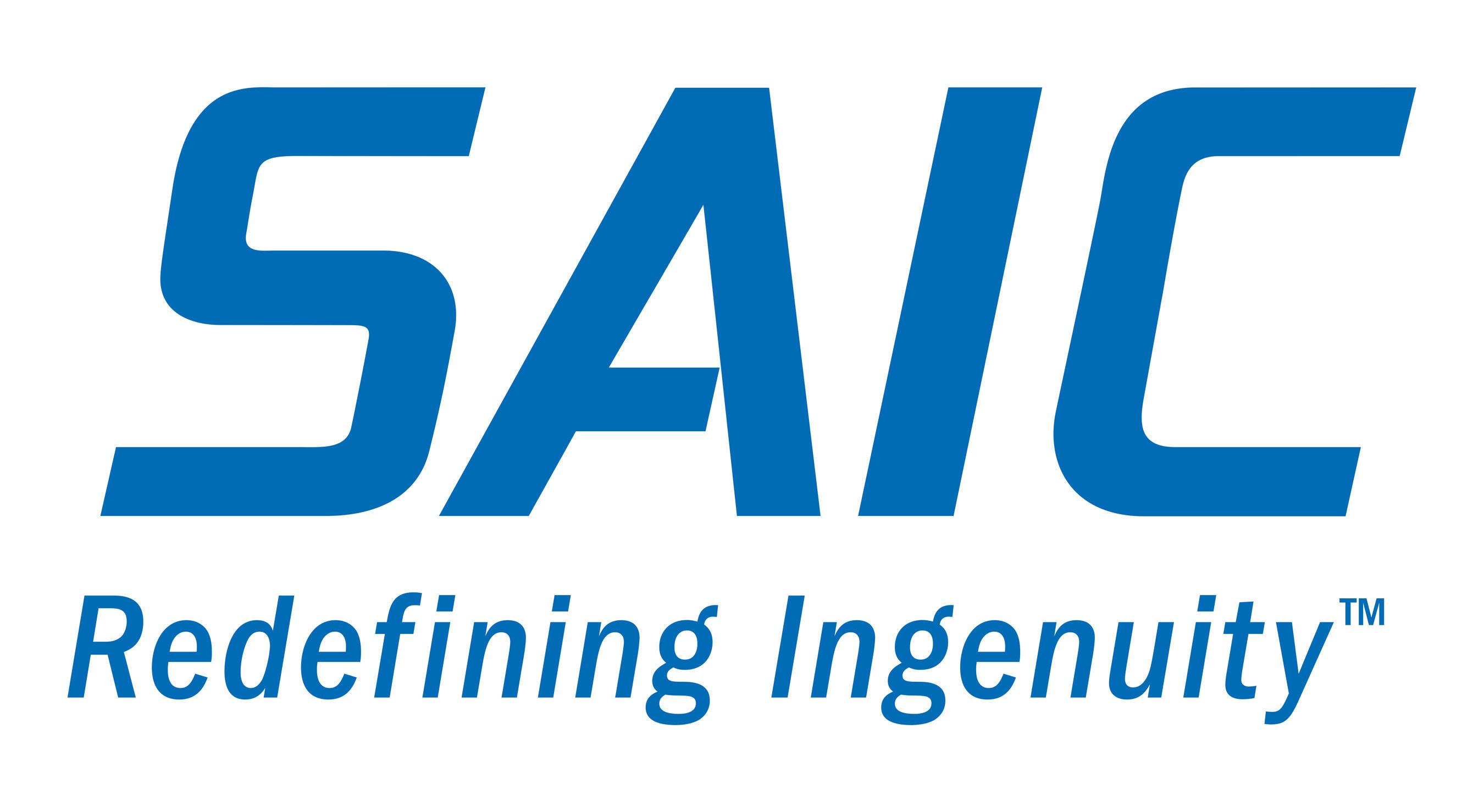 SAIC Redefining Ingenuity Logo