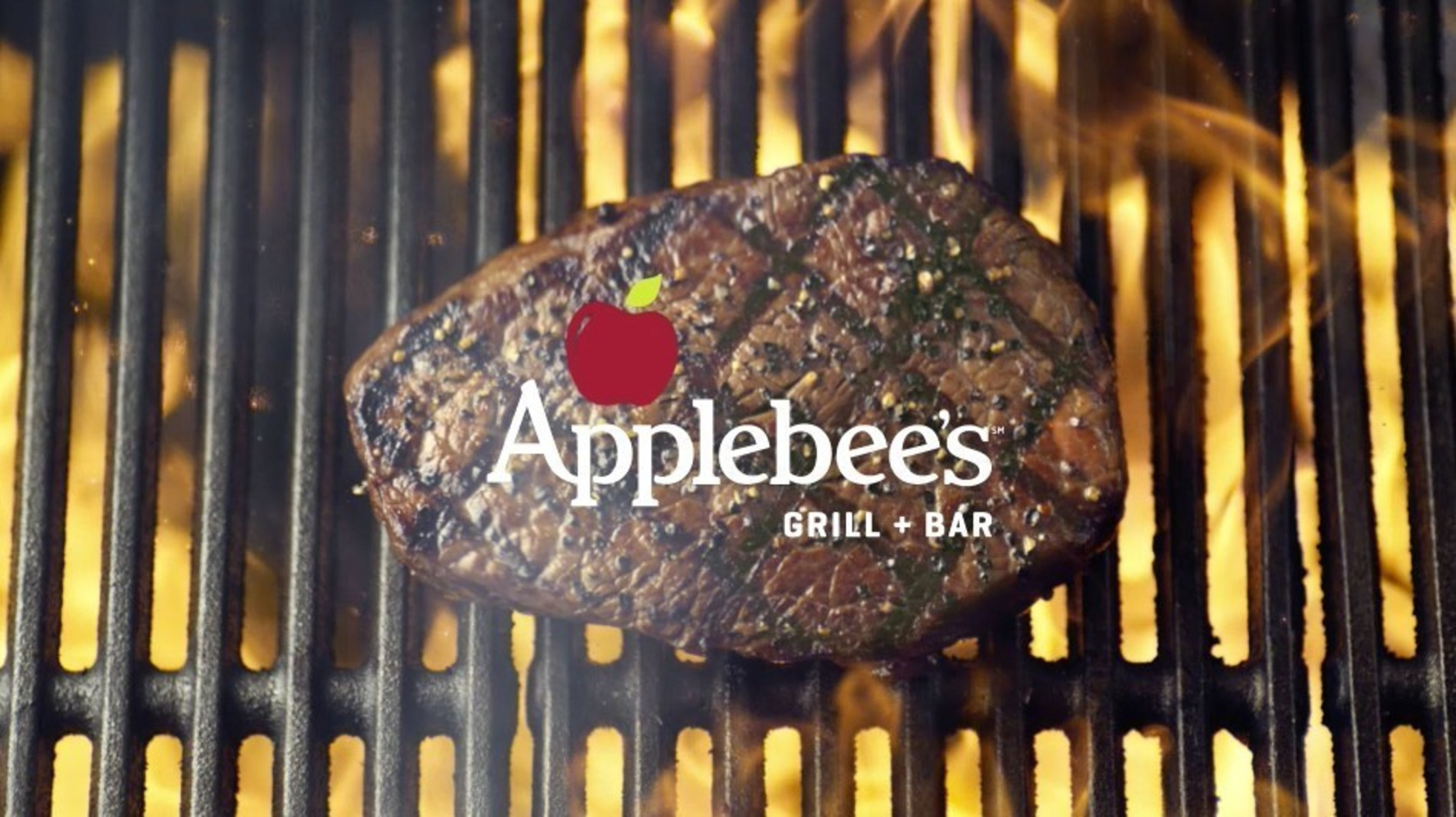 Applebee's new certified USDA Choice steaks are hand-cut in-house by trained meat cutters and grilled over American oak logs.