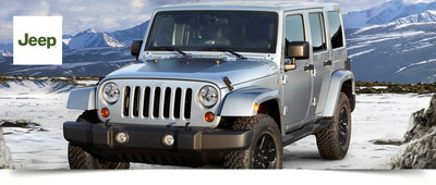 Briggs Chrysler anticipates the release and arrival of the 2015 Jeep Wrangler in Lawrence, Kan. (PRNewsFoto/Briggs Chrysler)