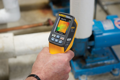 Optimizing HVAC/R systems with tools like the Fluke VT02 Visual IR Thermometer is critical to avoid energy waste and system downtime.  (PRNewsFoto/Fluke Corporation)