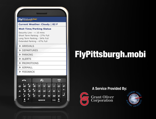 The Allegheny County Airport Authority & Grant Oliver Launches Mobile Website for Pittsburgh