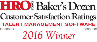 iCIMS Earns a Spot on the 2016 HRO Today's Baker's Dozen Customer Satisfaction Rating List