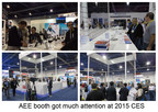 AEE booth gets much attention at 2015 CES