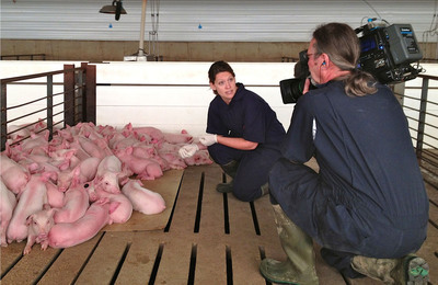 "Veterinarians and farmers from across the country are speaking out for responsible livestock farming by hosting film crews to document their work. Twelve veterinarians and their farmer and rancher clients across 10 states demonstrate modern animal wellness practices in the YouTube reality series ""Veterinarians On Call,"" www.youtube.com/vetsoncall"