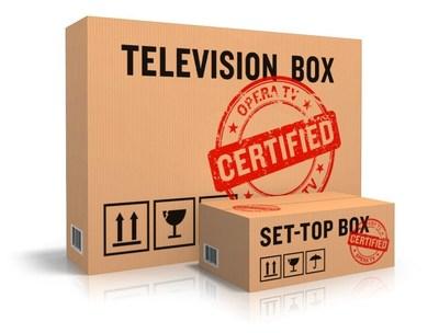 Opera TV Certification Program