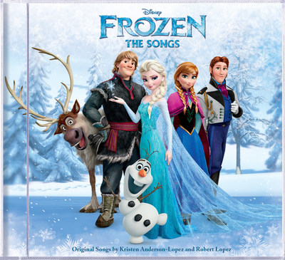 Frozen: The Songs cover art