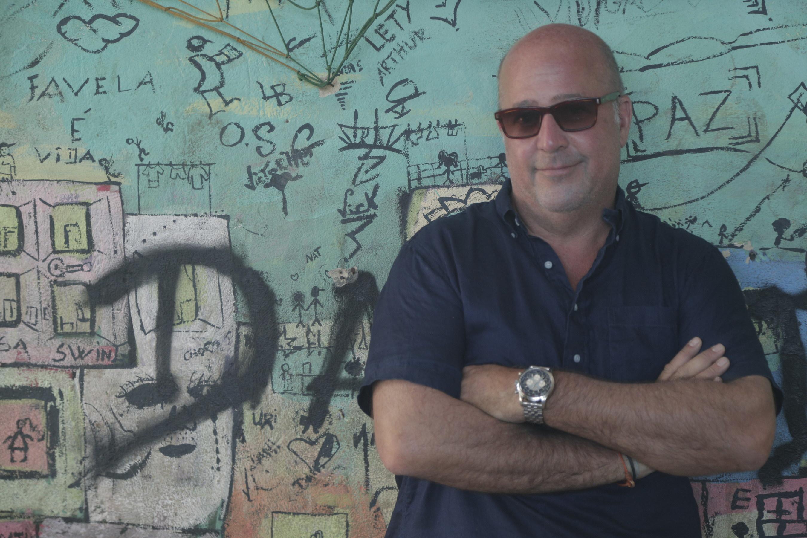 Andrew Zimmern, in Rio de Janeiro