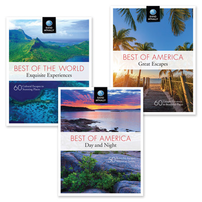 "Packed with stunning photos and engaging vignettes about U.S. and world destinations, Rand McNally's new ""Best of"" series will awaken and captivate the traveler that stirs in all of us."