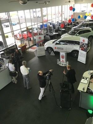 Mitsubishi Motors USA Foundation Donates $30,000 to American Red Cross of the Heartland