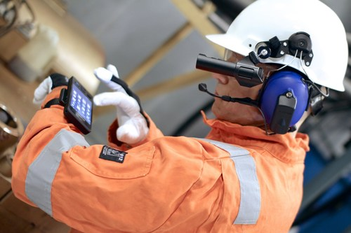 High-tech made by BARTEC: Mobile communication solutions for use in hazardous areas (PRNewsFoto/BARTEC GmbH) ...