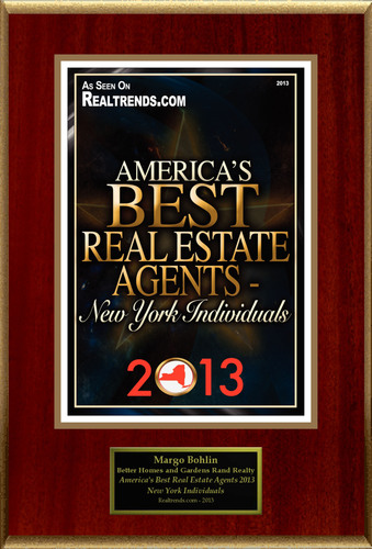 "Margo Bohlin Selected For ""America's Best Real Estate Agents 2013 - New York Individuals"".  ..."