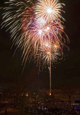 Celebrate the New Year in the Texas wilderness with a champagne toast under the Lost Pines fireworks spectacular at Hyatt Regency Lost Pines Resort & Spa.