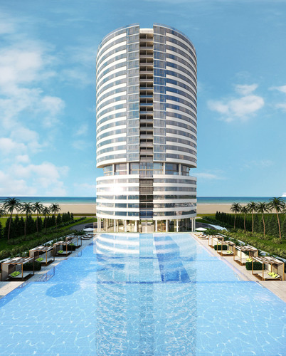 Slated for completion in fall 2016, the 23-story Trump Tower Punta del Este will feature 129 expansive ...