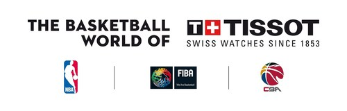 In 2008, Tissot became the Official Timekeeper of the International Basketball Federation (FIBA). More recently, on October 5, 2015, it signed the biggest contract of its history and became the first Official Timekeeper of the National Basketball Association (NBA). Today, to add to this impressive list, Tissot renews its partnership with the Chinese Basketball Association (CBA), which positions the Swiss watch brand as the Top Player in the world of Basketball Timekeeping. (PRNewsFoto/TISSOT S.A.) (PRNewsFoto/TISSOT S.A.)