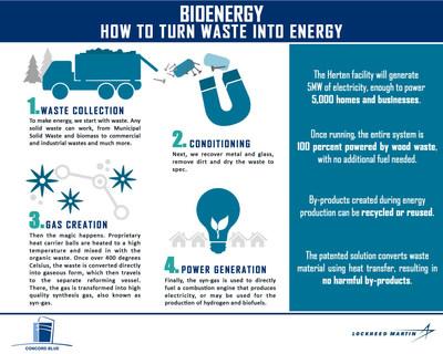 Lockheed Martin Bioenergy Infographic
