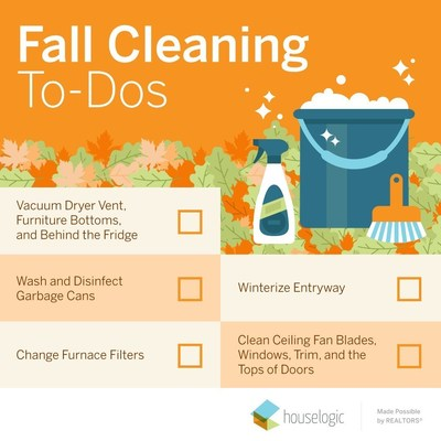 Fall Cleaning To-Dos from HouseLogic
