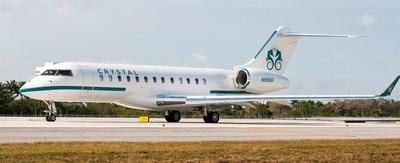 Crystal's Global Express Jet