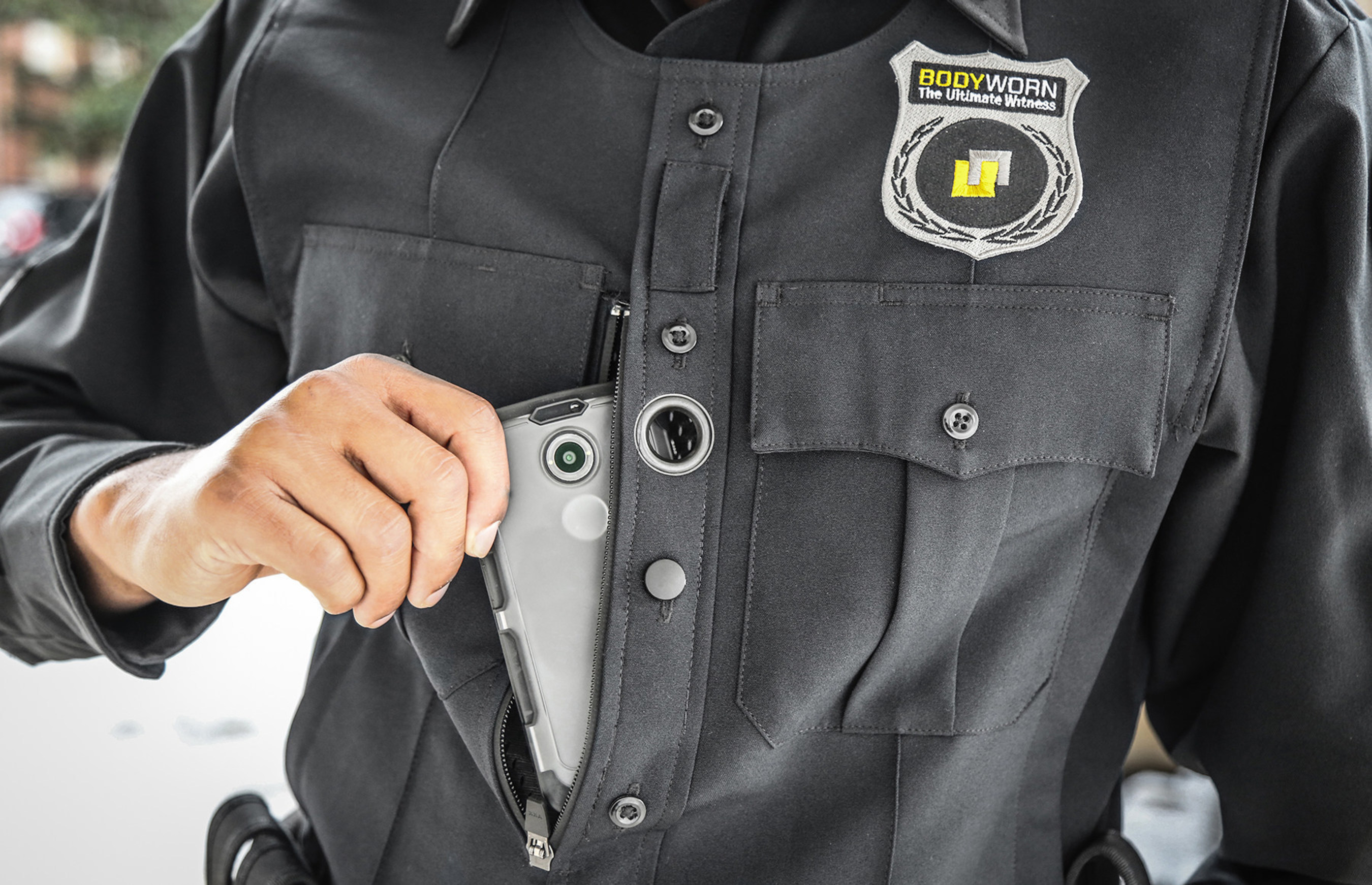 Utility's BodyWorn(TM) is the only police body camera system that provides policy-based recording and automatic video redaction